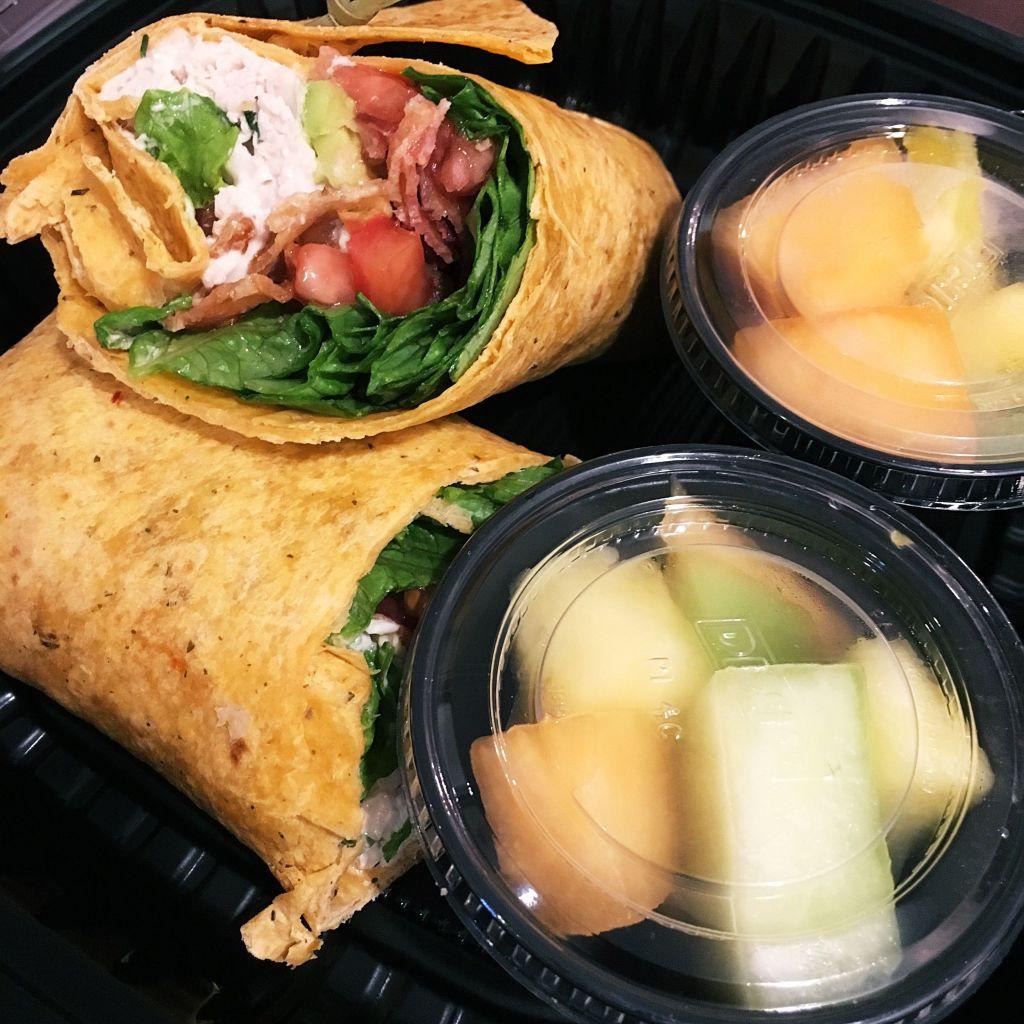 Tarragon Chicken Salad Wrap