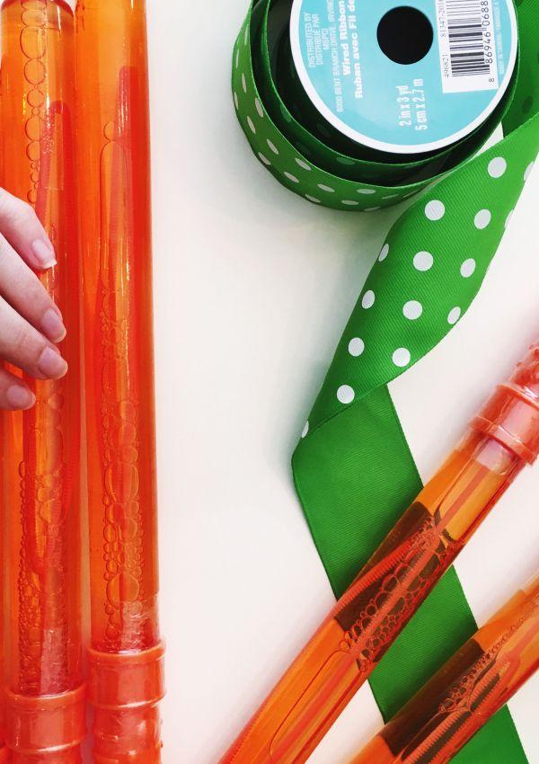 Carrot Bubbles | DIY