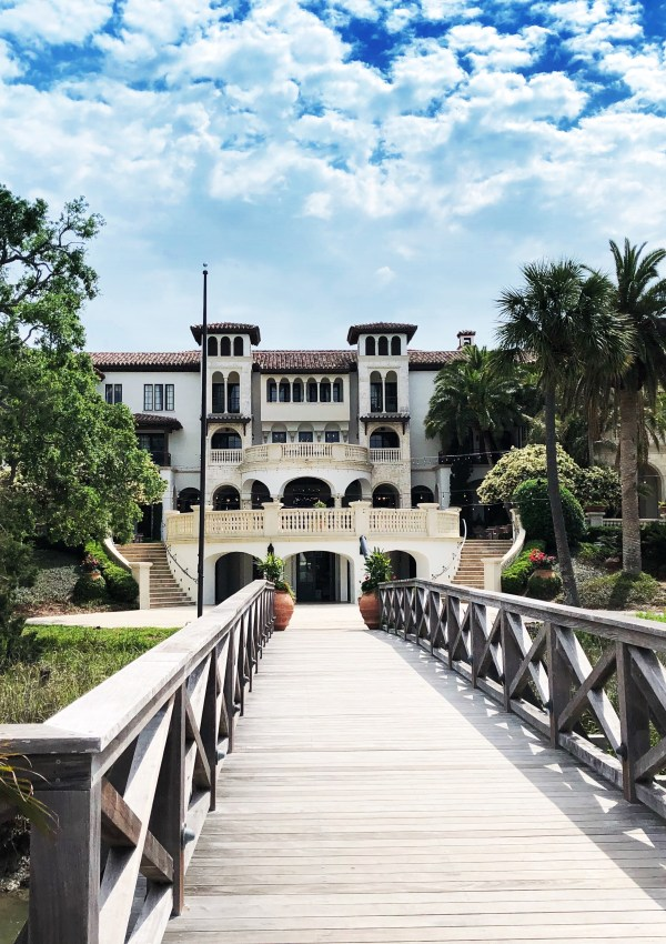 Scenes around The Cloister – Sea Island