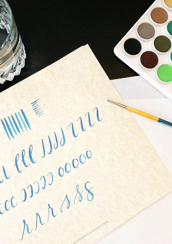 Hand-Lettering with Watercolor | Watercolor Summit