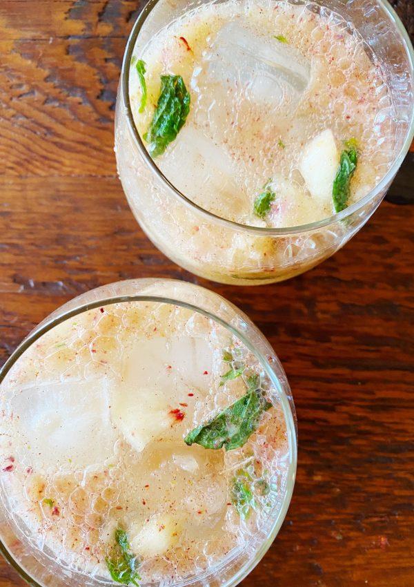 Peachy Spiced Mocktail