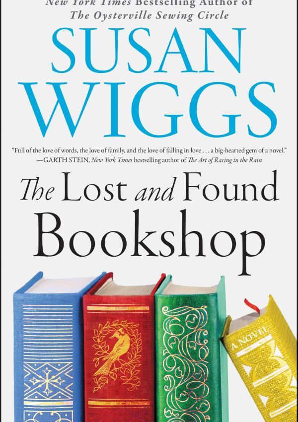 The Lost and Found Bookshop with Author Susan Wiggs