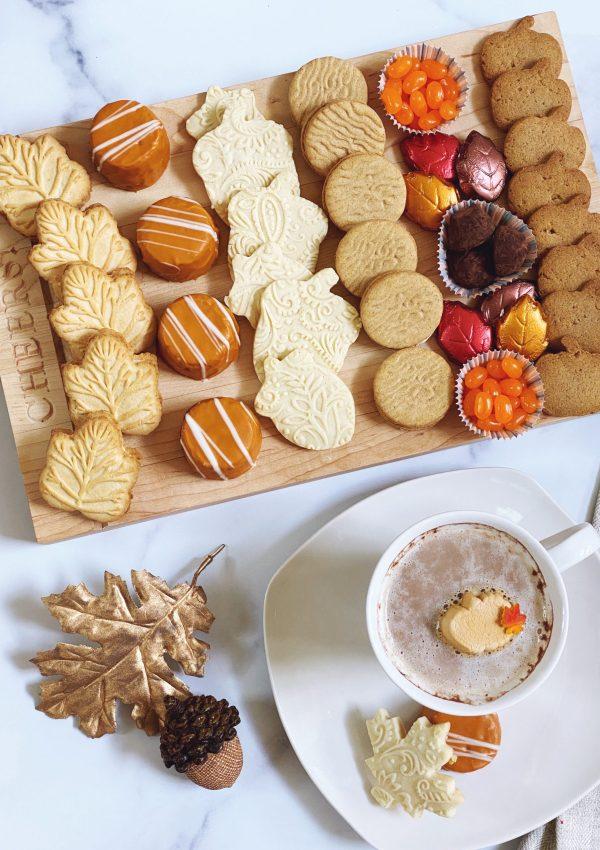 Fall Cookie Board