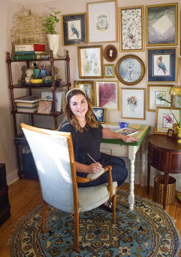 Inside the Bespoke Watercolor World of Rachael Roxanne by Hand