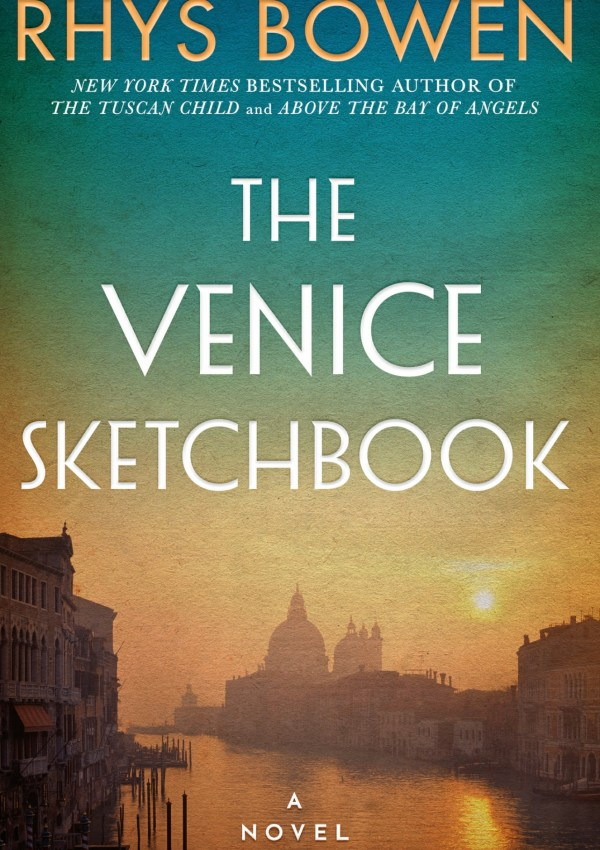 The Venice Sketchbook with Author Rhys Bowen
