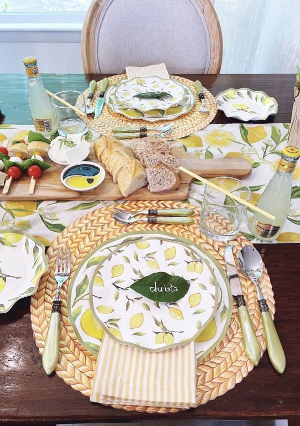 Lemon Inspired Soirée