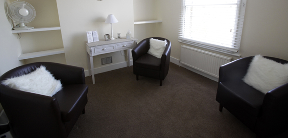 Counselling room at TAC
