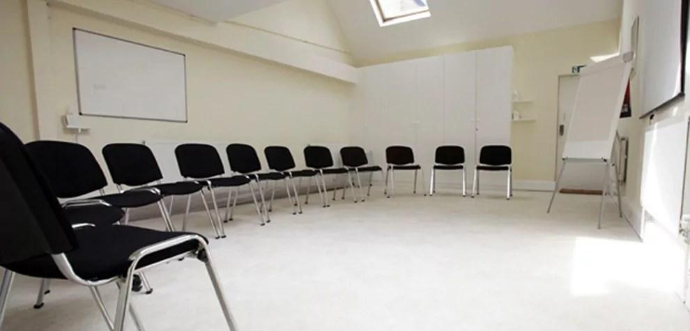 Training room at TAC