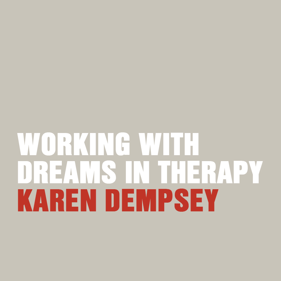 Working with dreams in therapy