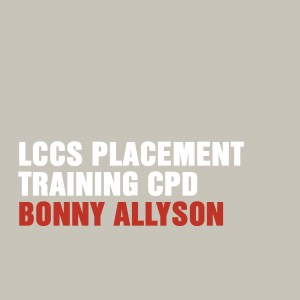LCCS Placement Training CPD with Bonny Allyson