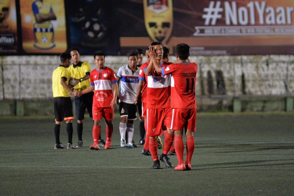 Squad Rules:  Mizoram Police FC enforce an end to Chhinga Veng FC's 26-match unbeaten run.   Photo Courtesy: @MFAMizoramFootballAssociation