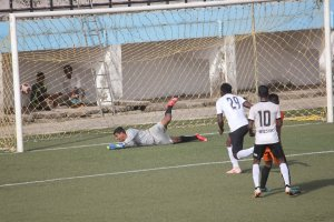 Army Defense Breached: Vasco's scores against Corps of Signals in the Goa Professional League match. Photo Courtesy: Goa Football Association