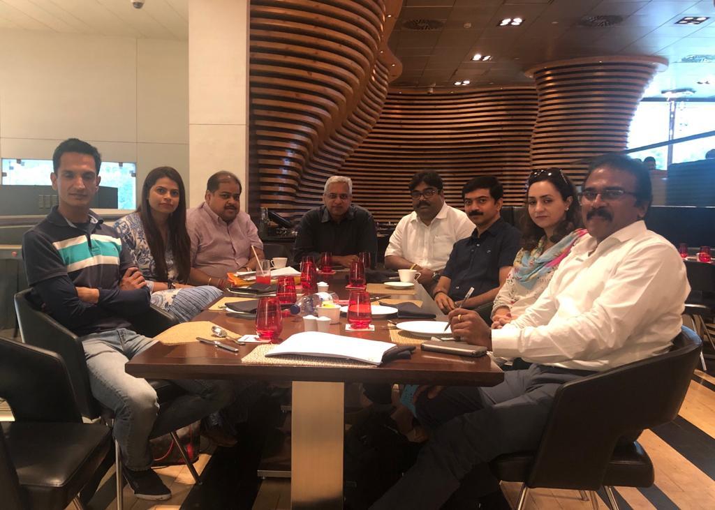 I-League club representatives met in Delhi today.