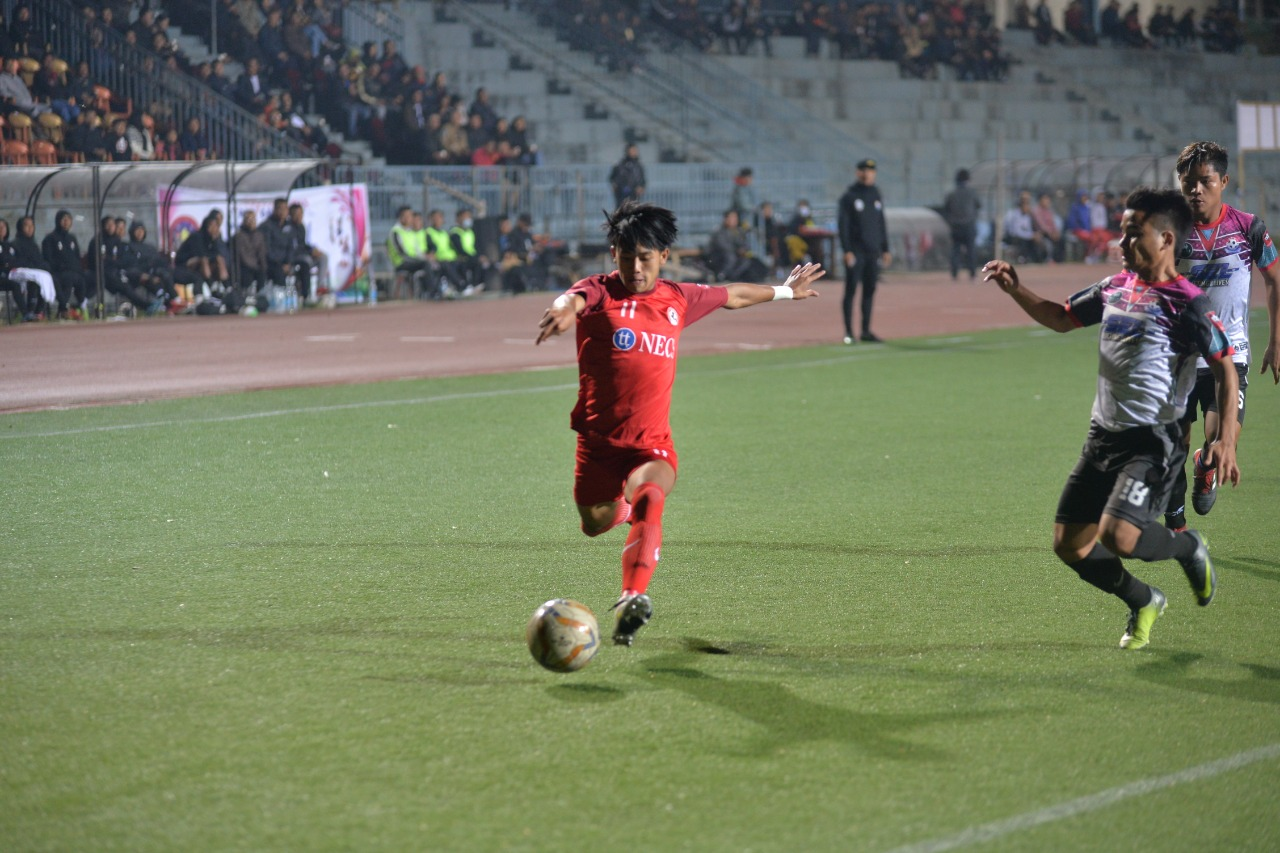 Mizoram Premier League 2019  Semifinal 1st Leg