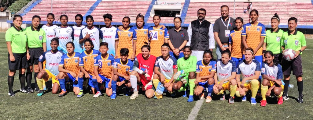 Sethu FC and KRYPHSA FC register wins on the opening day of the Indian Women's League 2019-20