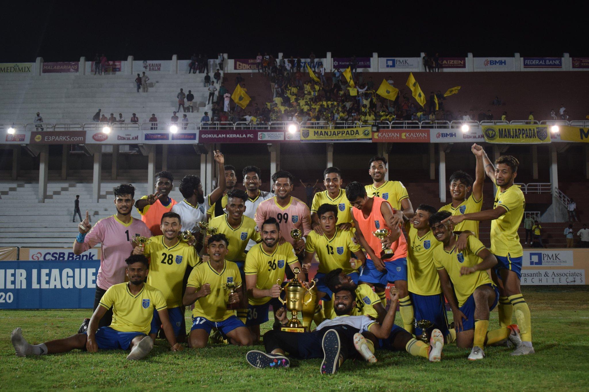 Kerala Premier League 2019-20 Champions
