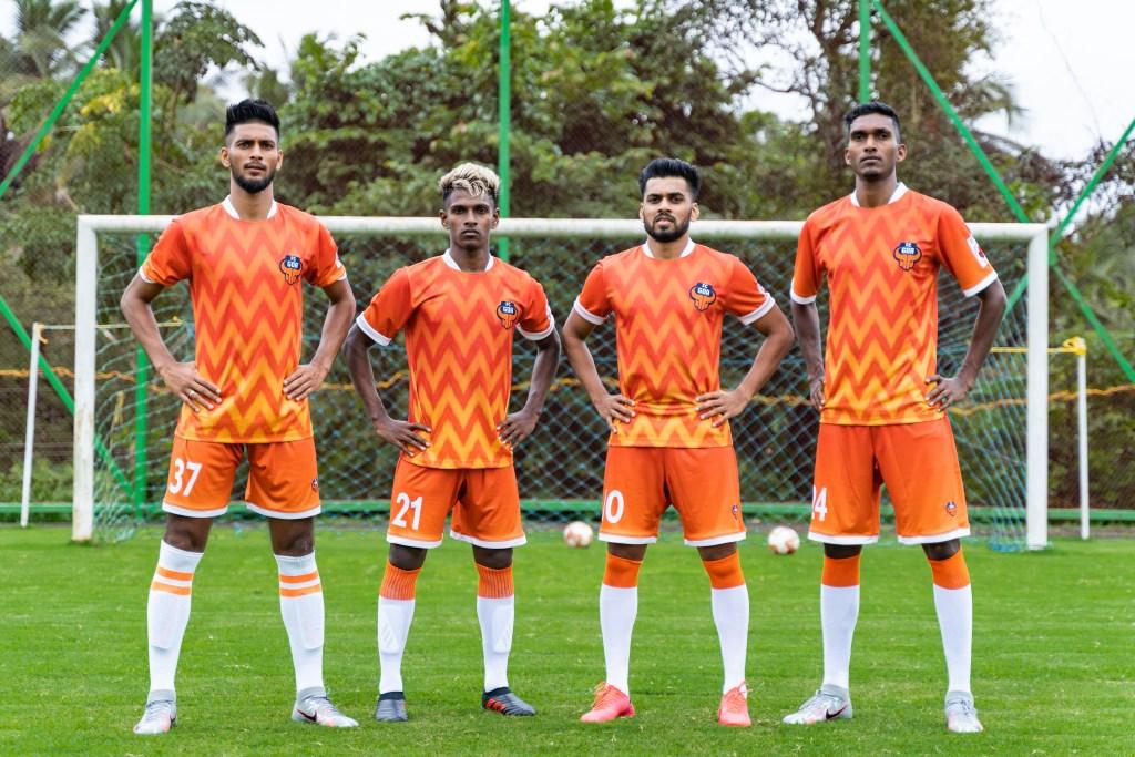 FC Goa launches the new Uzzo Jersey for the 2020-21 ISL season