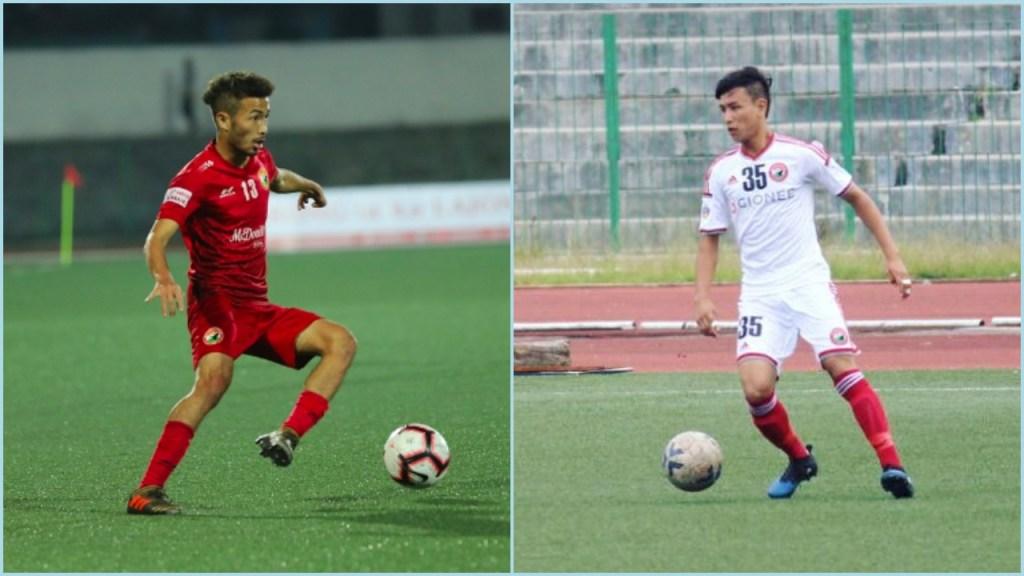 Forward Naorem Mahesh Singh and Defender Kenstar Kharshong join Kerala Blasters from Shillong Lajong FC