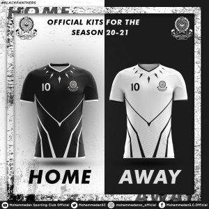 Mohammedan SC jersey 2020-21