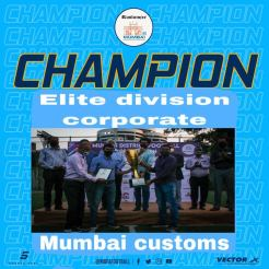 MDFA Elite Division Corporate Mumbai Customs