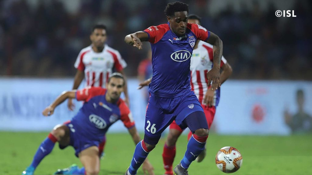 Northeast United FC sign forward Deshorn Brown from Bengaluru FC