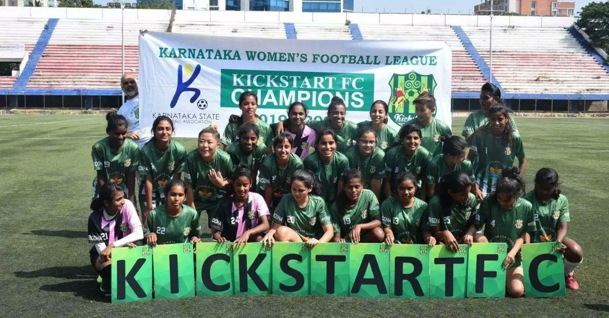 Karnataka Women's League 2020-21 Champions Kickstart FC
