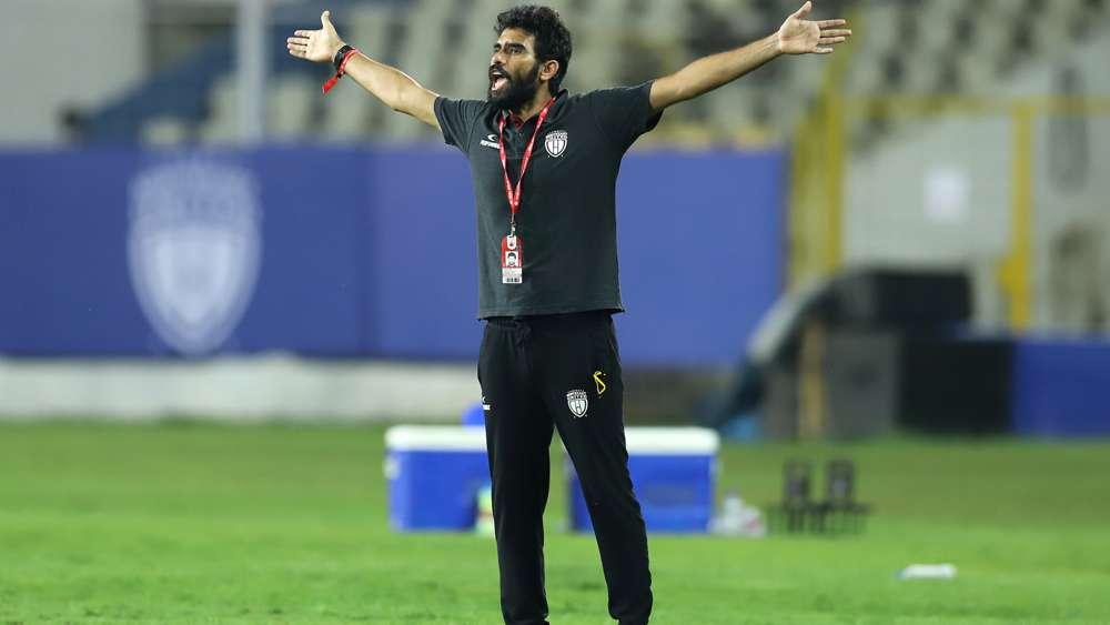 Northeast United FC 2020-21 Khalid Jamil