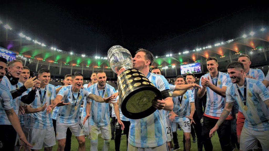 Lionel Messi Copa America 2021