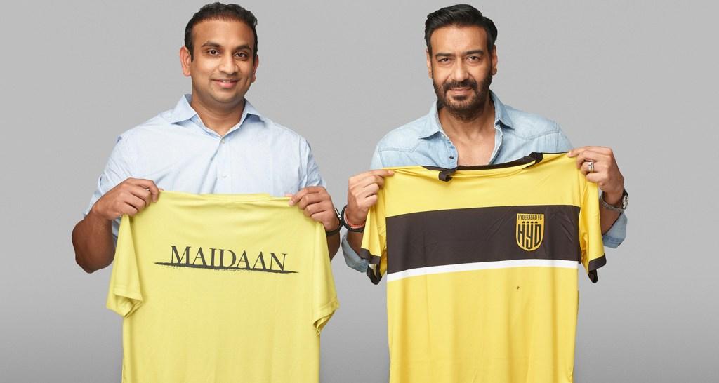 Hyderabad FC announces partnership with Maidaan movie