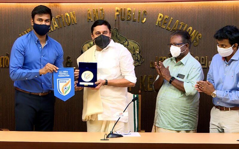 Government of Kerala and AIFF announce collaboration on multiple football development projects
