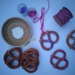 pretzels_glue_ribbon_and_glitter_for_making_decorations