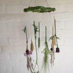 How to make a Flower Chandelier – prettiest flower craft of June