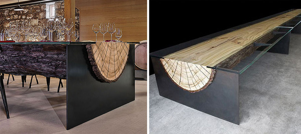 amazing table designs - wood table  2