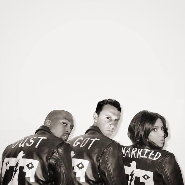 kanye & kim photoshopped