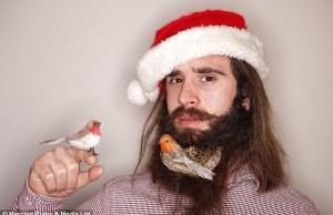 christmas beards