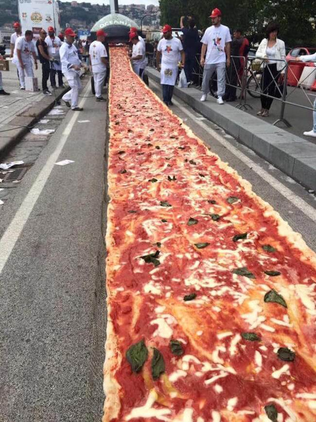 worlds longest pizza 2