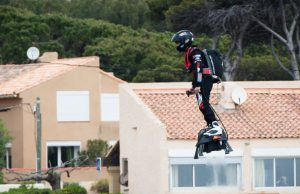Jet-powered hoverboard 1