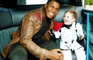 John Boyega Visits Sick Children 1