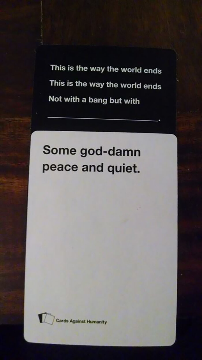 44 Cards Against Humanity Best Combos That Prove This Game