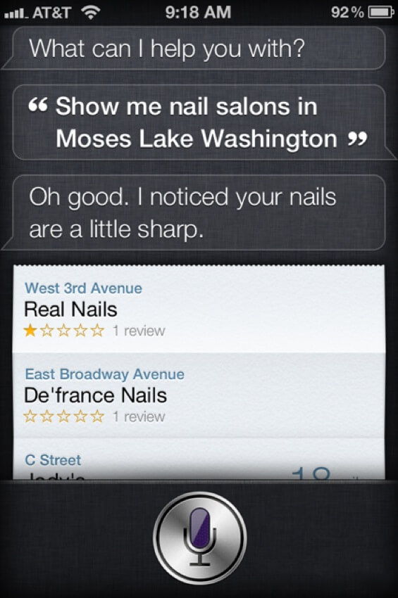 Image of: Cool Funny Things To Say To Siri 1 Spanish Lake 44 Funny Things To Ask Siri When Youre Bored Out Of Your Mind