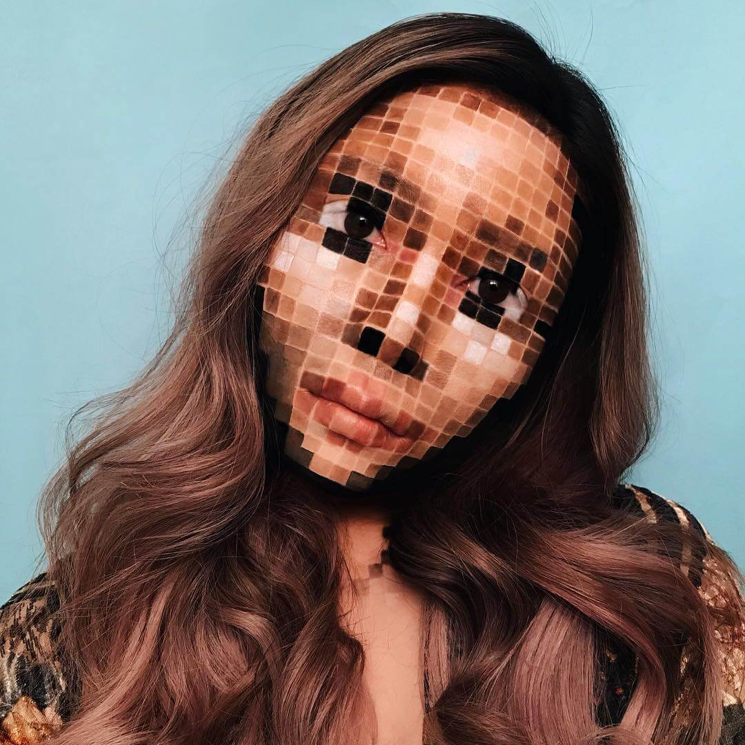 Mimi Choi Makeup Portraits Will Blow Your Mind With Their