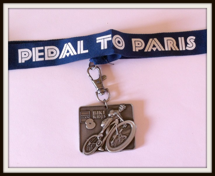 pedal to paris medal