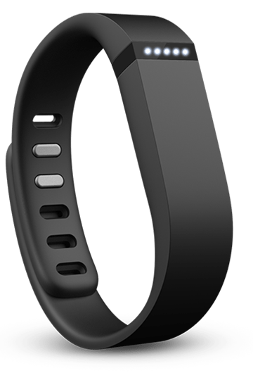 Black Flex Fitbit