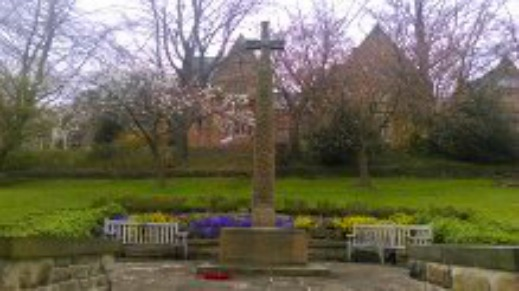 Bede War memorial enlarged