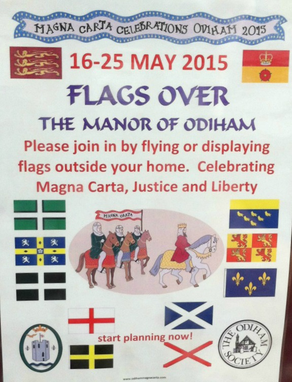 Flags over Odiham