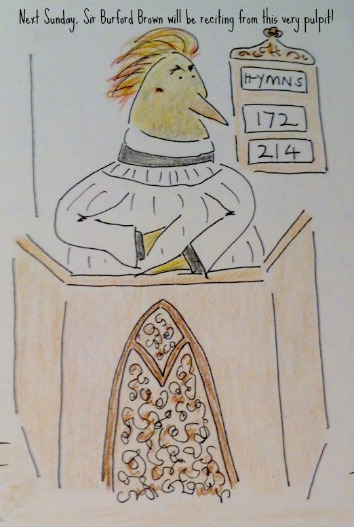 T the Rev in his pulpit 1