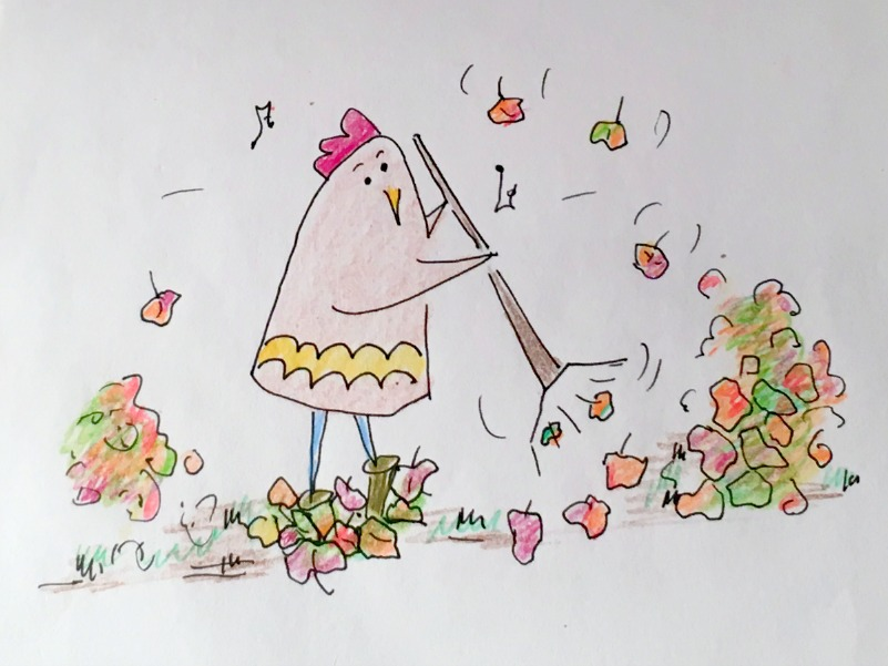 raking-up-the-autumn-leaves