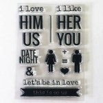 rukristin relationships clear stamp set