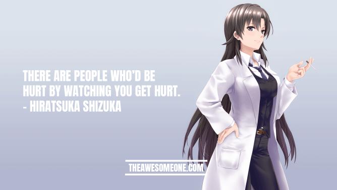 Hiratsuka Shizuka Quotes