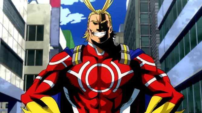 My Hero Academia Fans Favorite All Might